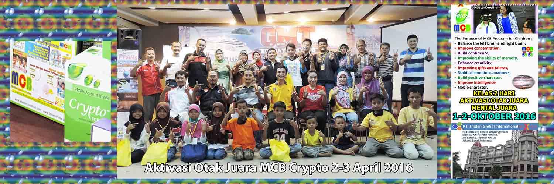 Workshop Kelas Special MCB Anak Aktivasi Otak Juara Mental Juara